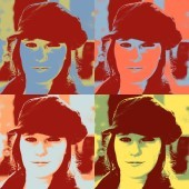 Pop Art 4 fach (80 x 110)